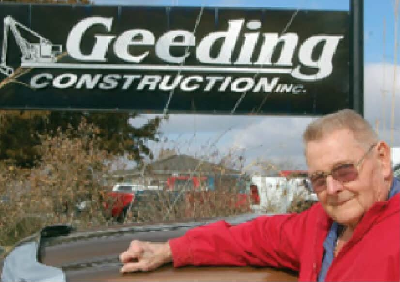 geeding construction founder